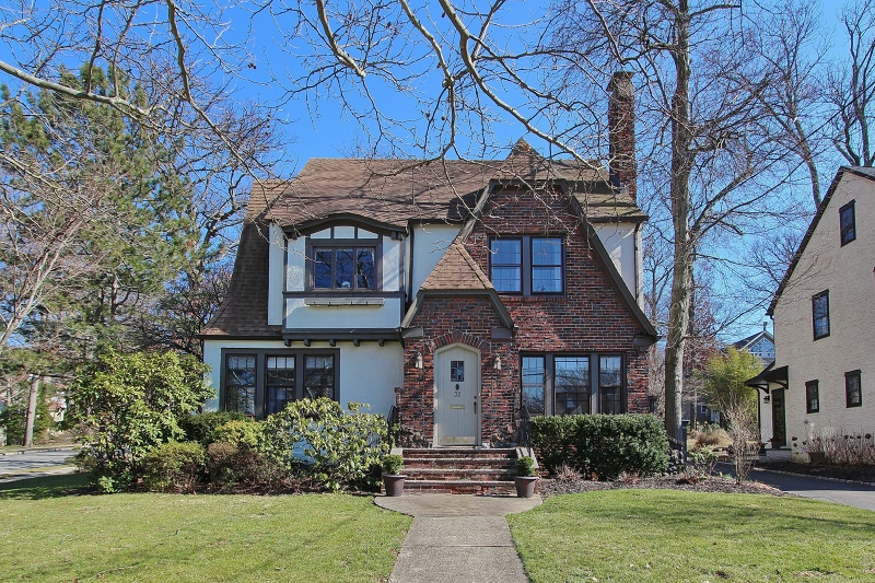 French Tudor For Sale 32 Laurel Avenue Summit NJ