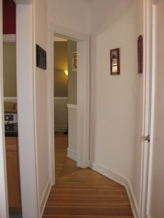 Hallway into Living Room