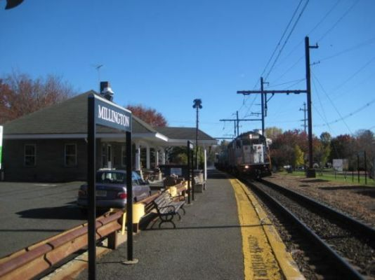 Long Hill Train Station