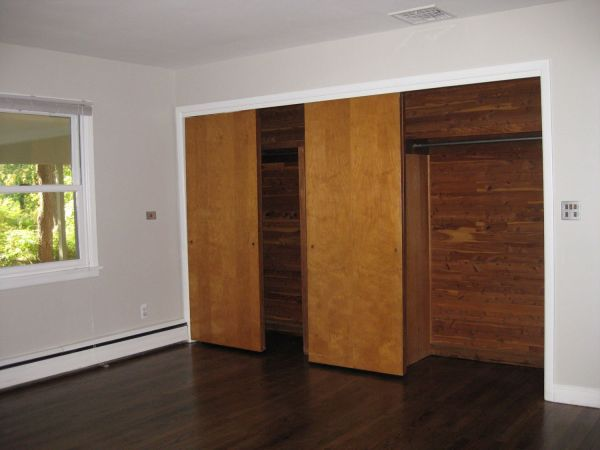 Master Bedroom Cedar Closets