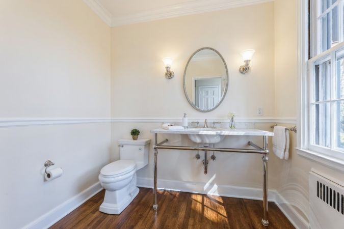 Powder Room - Newly installed 2021